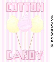 vintage cotton candy