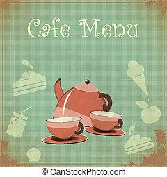 Vintage Cover Cafe Menu