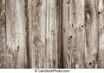 Vintage cracked, gray wooden surface