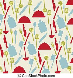 vintage cutlery icons over beige background. vector illustration