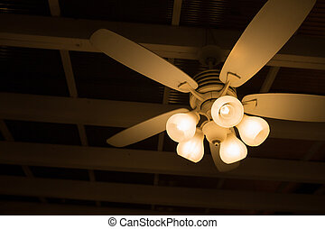 ceiling lamp and fan