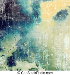 Vintage decorative background, antique grunge texture with different color patterns: yellow (beige); green; blue; purple (violet); gray; white