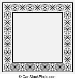 Vintage decorative frame
