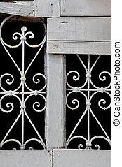 vintage decorative metal pattern