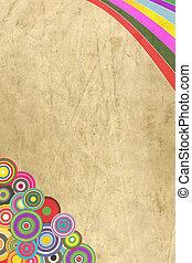 Vintage decorative paper