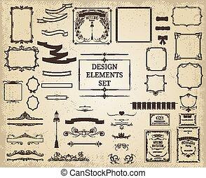 Vintage Design Elements Collection
