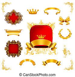 Vintage design elements, eps10