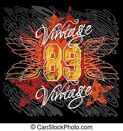 Vintage Design - T-shirt Printing