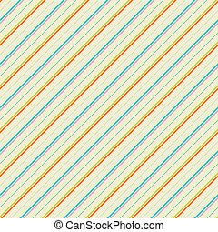 Vintage diagonal stripe vector seamless pattern (tiling)....