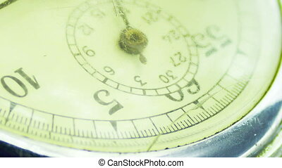 Vintage dial stopwatch.
