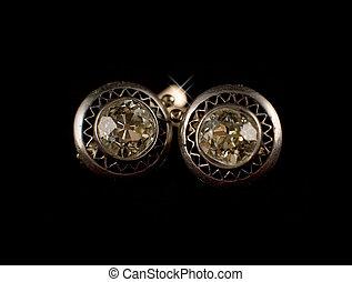 Vintage diamond dearrings