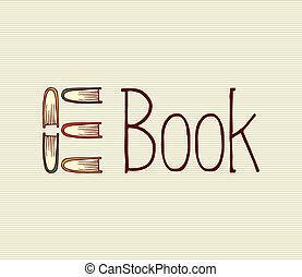 Vintage digital book text.
