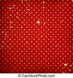 vintage dotted background with stains