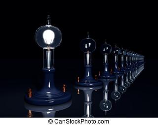 Vintage Edison Light bulbs - Vintage light bulb...