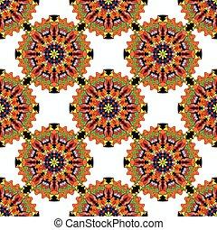 Vintage elements pattern