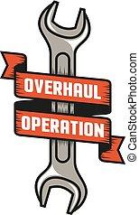 emblem overhaul repair