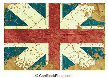 Vintage English flag