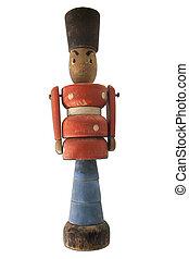 Vintage English Queen guard soldier