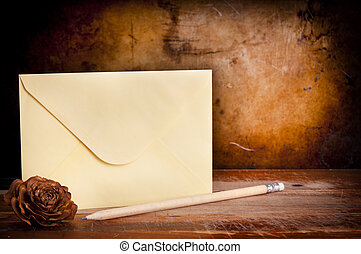 Vintage Envelope Background
