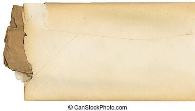 Vintage Envelope Opened at Side