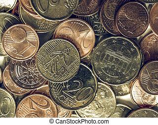 Vintage Euro coin