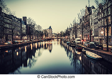 Vintage Evening in Amsterdam
