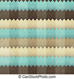 vintage fabric seamless pattern with grunge effect