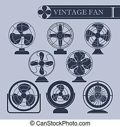 Vintage fan I