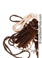 fashion accessories - vintage fashion accessories toned...