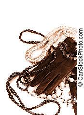 fashion accessories - vintage fashion accessories toned ...