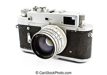 Vintage film photo camera
