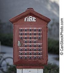 Vintage Fire Box