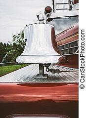 Vintage Fire Engine Bell