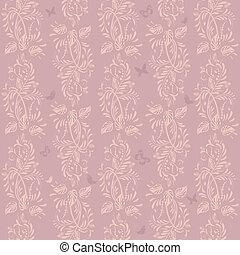 vintage floral background seamless