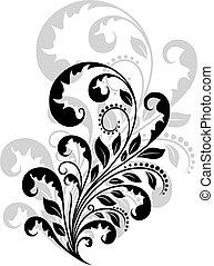 Vintage floral embellishment
