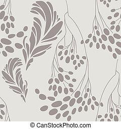 vintage floral pattern vector illustration