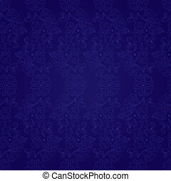 Vintage floral seamless pattern on violet