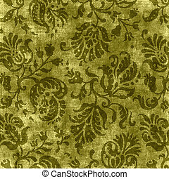 Vintage Floral Tapestry