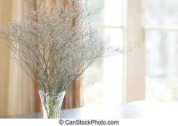 vintage flower in vase