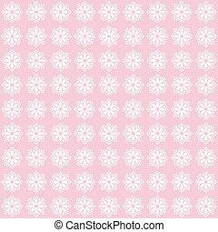 Vintage flower pattern grunge background