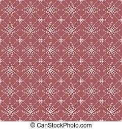 Vintage Flowers Graphic Pattern