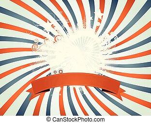 Vintage Fourth Of July Patchwork