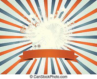 Vintage Fourth Of July Patchwork - Illustration of an ...
