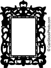 vintage frame. Vector