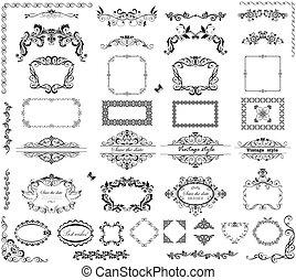 Vintage frames and headers