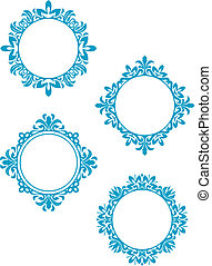 Vintage frames - Antique vintage frames isolated on white ...