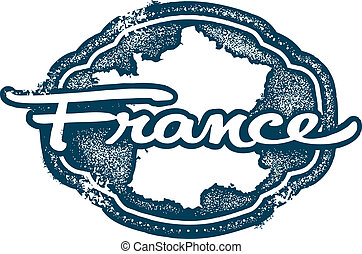 Vintage France European Country