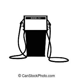 Vintage Fuel Dispenser
