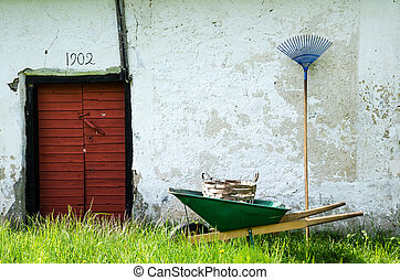 Vintage garden equipment - Old garden equipment at and old...