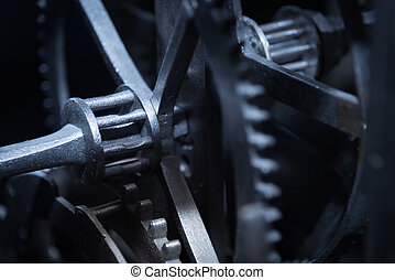 Vintage gears and cogs